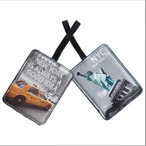 Miamica NYC Luggage Tags - 2-Pack